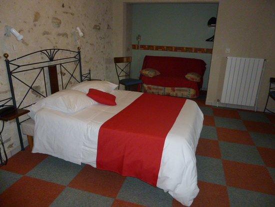 La Souterraine, Frankrike: Chambre 1 à 4 Personnes