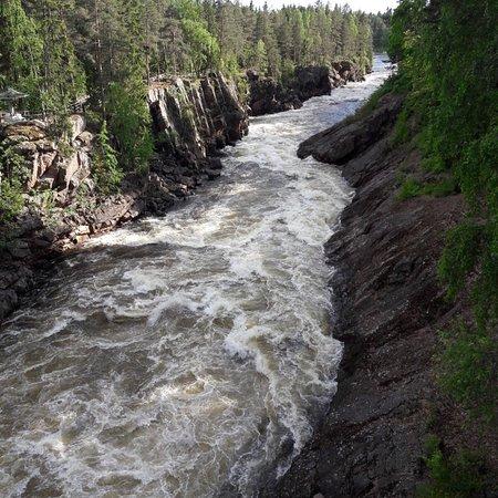 Imatra Waterfall ภาพถ่าย