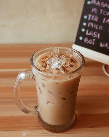 Teh Tarik - literally mean pulled tea is hot milk tea