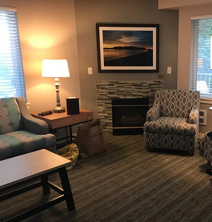 People Put Chairs On Tide Flats Picture Of Worldmark Birch Bay