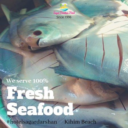 Kihim, Индия: Fresh Seafood
