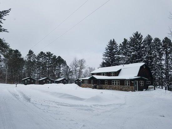 Wintertime at Hidden Cove Resort