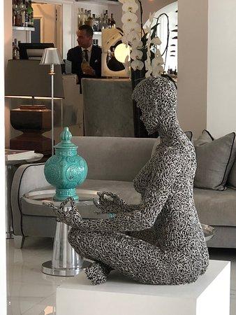 Hotel Villa Franca: cool art
