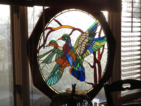 Maybell, CO: wonderful stained glass, original art by owner