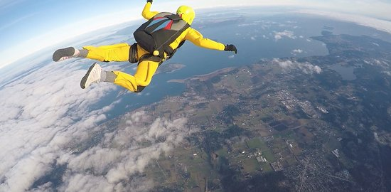 Capital City Skydiving: what a view!