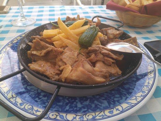 Baena, Spain: Exquisito cabrito