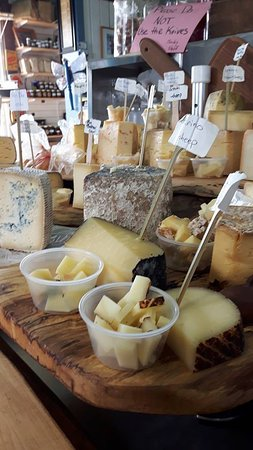 Rideau Lakes, Canada: Cheese Samples