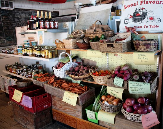 Rideau Lakes, Kanada: Local Produce