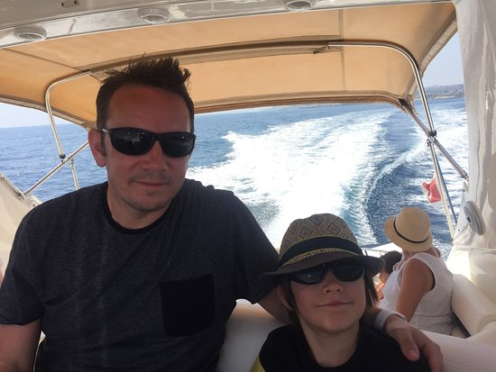 Azure Ultra: boys on the boat