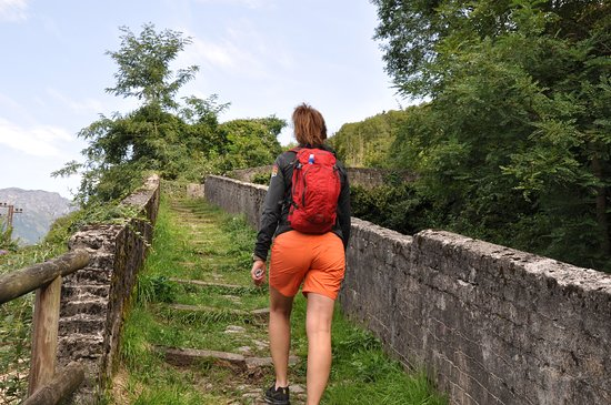 Saras Italy: Trekking tour in the historical way of via Priula or via Mercatorum