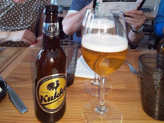 Ravintola KuuKuu: es gibt glutenfreies Bier