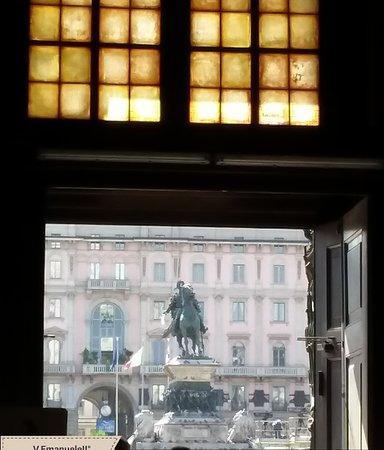 Monumento a Vittorio Emanuele II: Vista dal Duomo