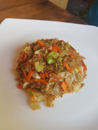 The Mansion Cafe: oily fried vegetable rice