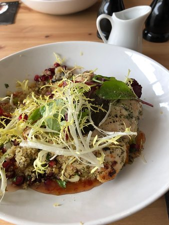 Yoxford, UK: Lovely healthy and tasty lunch