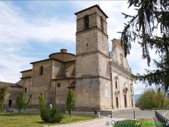 Poggio Picenze, Italy: Chiesa di San Felice Martire prima del terremoto