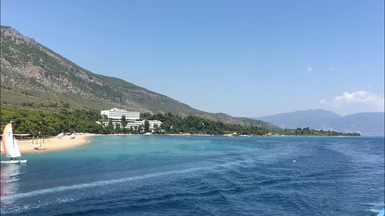 Gregolimano, Greece: arrivée en bateau