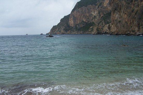 Agios Petros Beach : St. Petro Beach in Paleokastritsa