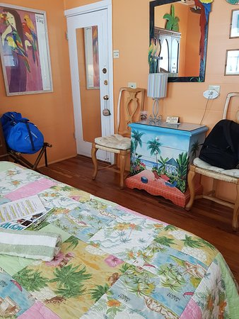 Knowles House B&B: Carribean room