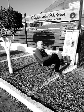 Las Cruces, Chile: Café ubicado en barrio Punta del Lacho, paseo obligado para los amantes de la Puesta de Sol