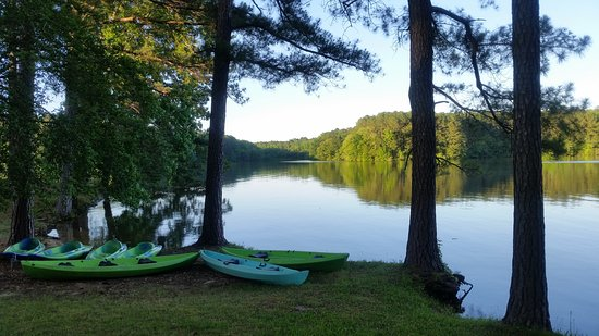 Natchez Trace State Park: rentals available