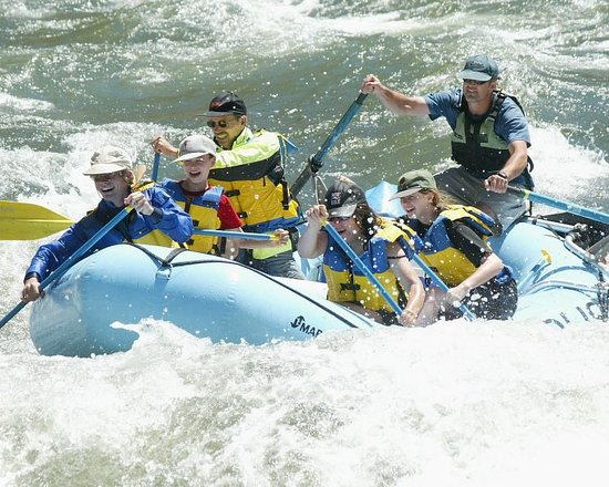 Lucile, ID: Whitewater rafting on the Salmon River