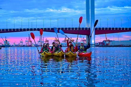 Halbtägige Melbourne Kayak Tour