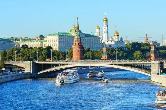 1 hora de cruzeiro no rio Moscou