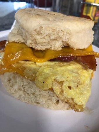 Tumwater, WA: Biscuit Sandwich