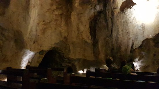 Capricorn Caves: The Cathedral.