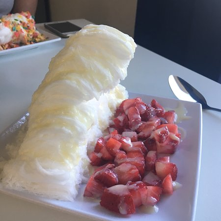Arctic Fox Shaved Snow and Desserts