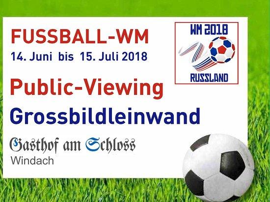Public Viewing zur Fussball-WM 2018
