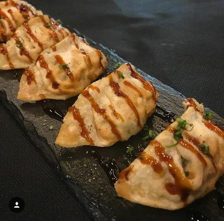 S'Agaró Sushi: Gyosas de Langostino