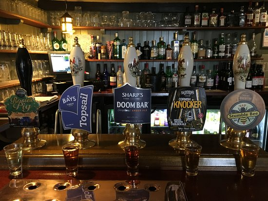Milton Combe, UK: Local Ales