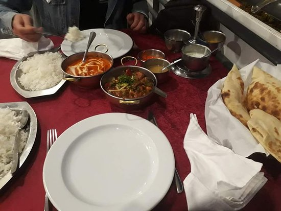 Indian Palace Restaurant : main dishes