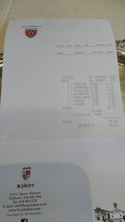 Javier, Spain: Restaurante Xabier
