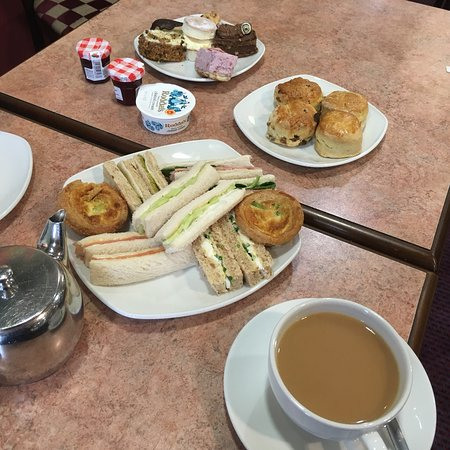 Delicious Afternoon Tea - Review of Druckers - Coventry ...