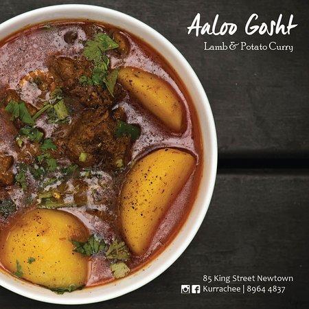 Kurrachee: Aalo Gosht - Lamb & Potato Curry