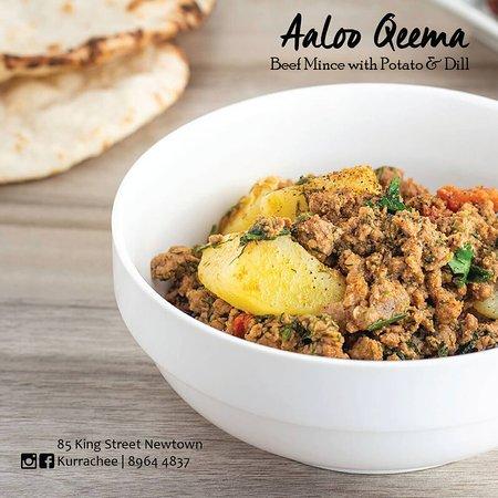 Kurrachee: Aaloo Qeema - Beef Mince with Potato & Dill
