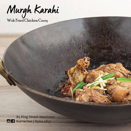 Kurrachee: Murgh Karahi - Wok Fried Chicken Curry (Our Best Seller!)