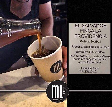 ML Espresso Bar: EL SALVADOR COLD COFFEE