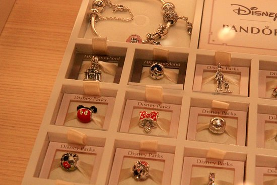 Exclusive Pandora Charms In Gift Shop Picture Of Disney Explorers