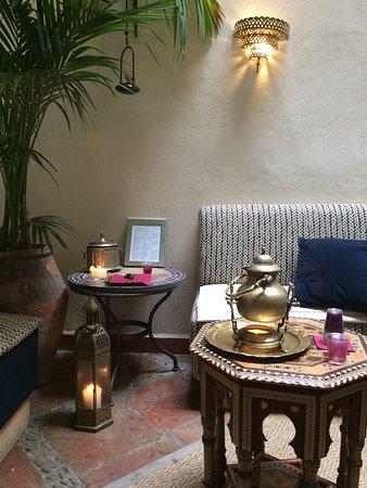 Hammam Al Andalus Granada: La sala d'aspetto dei bagni