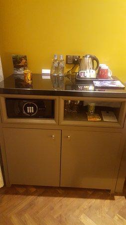 Our tea/coffee/minibar facilities
