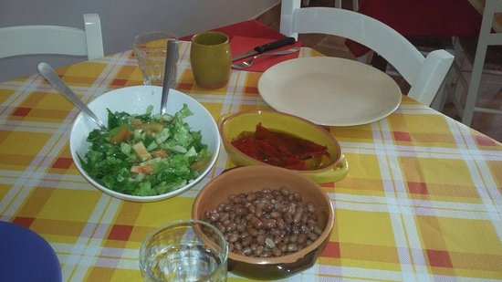 Preci, Italie : Piatti Tipici Hostaria Nonna Stella