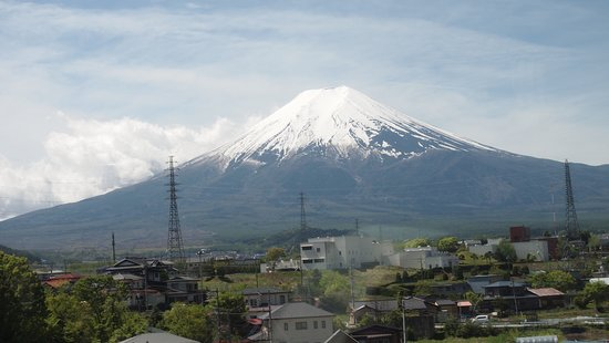 Mt Fuji, Hakone, Lake Ashi Cruise and Bullet Train Day Trip from Tokyo: Mt Fuji from our bus