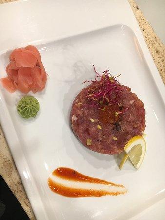Art Sushi: the best tuna tartar