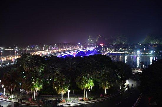 Universal Guilin Hotel: Blick aus dem Zimmer