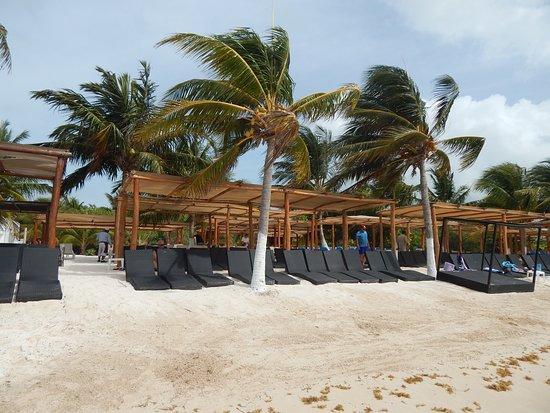 Uvero Beach Club Nice Chairs At Costa Maya Mexico