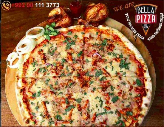 Bella Pizza & Pasta: Chicken Barbecue
