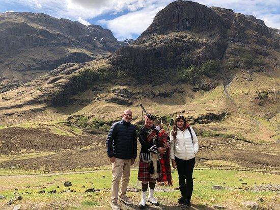 Excursion d'une journée à la découverte des Highlands écossais, du Loch Ness et de Glen Coe au départ d'Édimbourg : The Three Sister (Ballachulish-Glencoe)